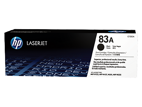 Mực in HP 83A Black Original LaserJet Toner Cartridge (CF283A)