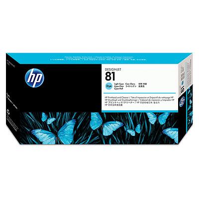 Đầu in HP 81 Light Cyan Dye Printhead and Printhead Cleaner (C4954A)