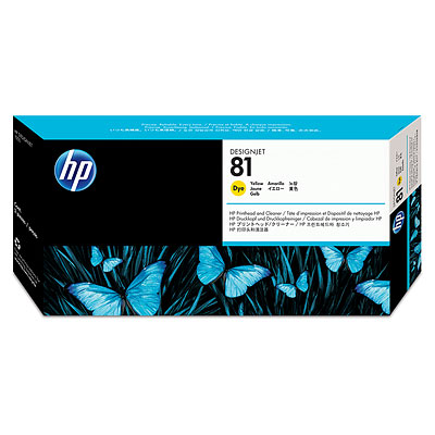 Đầu in HP 81 Yellow Dye Printhead and Printhead Cleaner (C4953A)