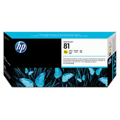 Đầu in HP 81 Yellow Dye Printhead and Printhead Cleaner (C4953A)