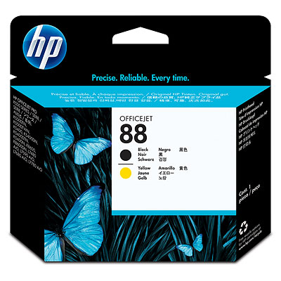 Đầu in HP 88 Black and Yellow Officejet Printhead (C9381A)