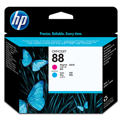 Đầu in HP 88 Magenta and Cyan Officejet Printhead (C9382A)