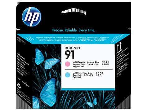 Đầu in HP 91 Light Magenta and Light Cyan Printhead (C9462A)