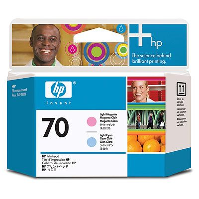 HP 70 Light Magenta and Light Cyan Printhead (C9405A)