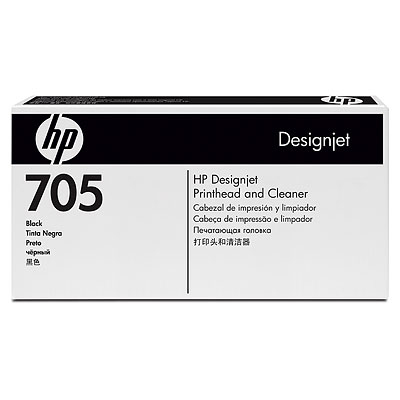 HP 705 Black Designjet Printhead and Cleaner (CD953A)