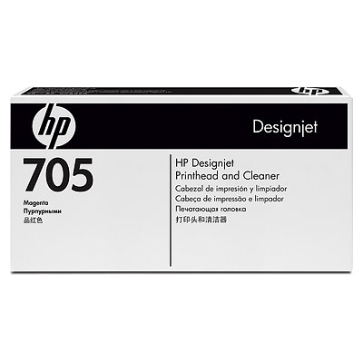 HP 705 Magenta Designjet Printhead and Cleaner (CD955A)