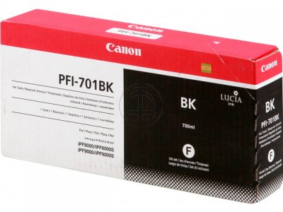 Mực in Canon PFI-701 Black Ink Tank