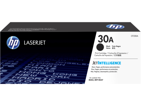 Mực in HP 30A Black Original LaserJet Toner Cartridge (CF230A)