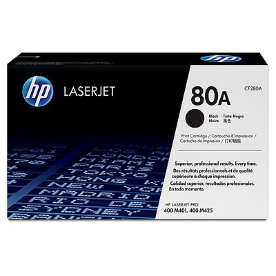 Mực in HP 80A Black LaserJet Toner Cartridge (CF280A)