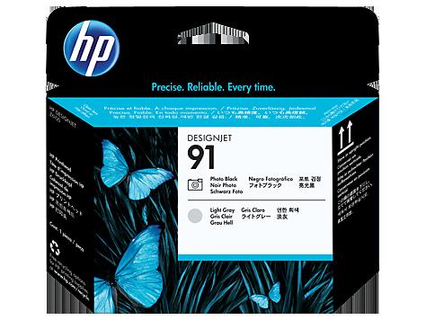 Đầu in HP 91 Photo Black and Light Gray Printhead (C9463A)