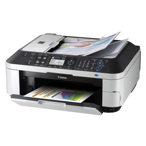 Máy in Canon MX357, In, Scan, Copy, Fax, In phun màu