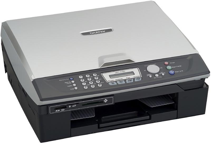 Máy in MFC 210C, In, Scan, Copy, Fax, In phun màu