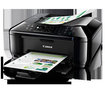 Máy in Pixma MX527, In, Scan, Copy, Fax, In phun màu