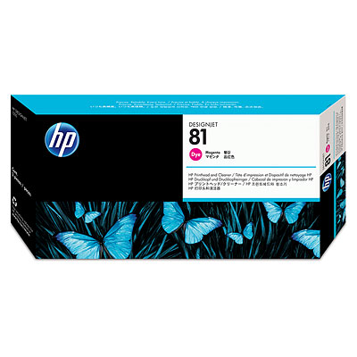 Đầu in HP 81 Magenta Dye Printhead and Printhead Cleaner (C4952A)
