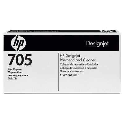 HP 705 Light Magenta Designjet Printhead and Cleaner (CD958A)