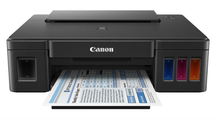 Máy in Canon đa năng PIXMA G2000, in phun màu tiếp mực ngoài chính hãng