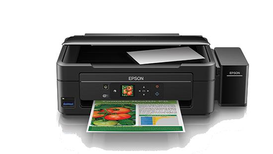 Máy in đa năng Epson L455, In, Scan, Copy, In phun tiếp mực ngoài chính hãng