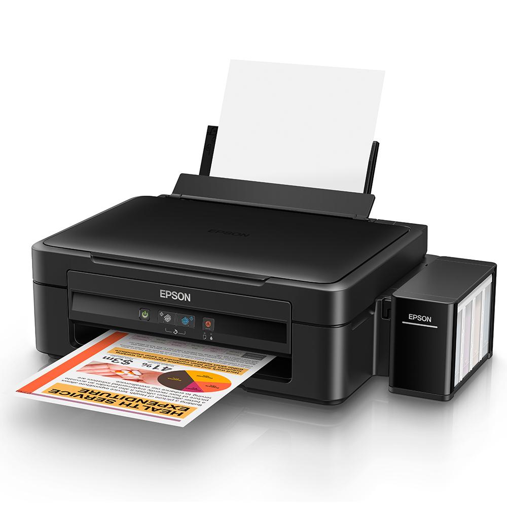 Máy in Epson L220, In, Scan, Copy, In phun màu tiếp mực ngoài chính hãng