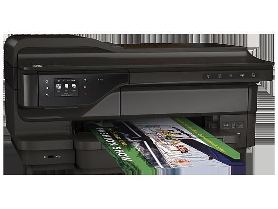 Máy in HP Officejet 7612 Wide Format e-All-in-One (G1X85A) - In, Scan, Copy, Fax, Wifi, Duplex