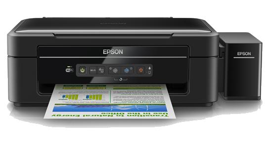 Máy in Wifi Epson L365, In, Scan, Copy, In phun màu tiếp mực ngoài chính hãng
