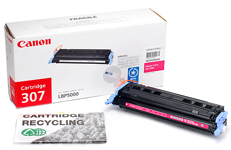 Mực in Canon 307 Magenta Toner Cartridge