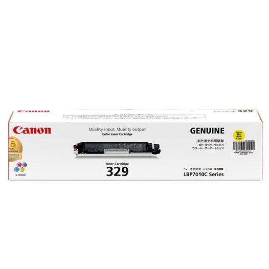 Mực in Canon 329 Yellow Toner Cartridge