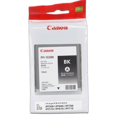 Mực in Canon PFI-102 Black Ink Tank
