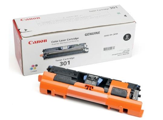 Mực in Mực đen Laser màu Canon Cartridge-301Bk