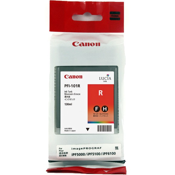 Mực in Mực đỏ Canon PFI-101Red