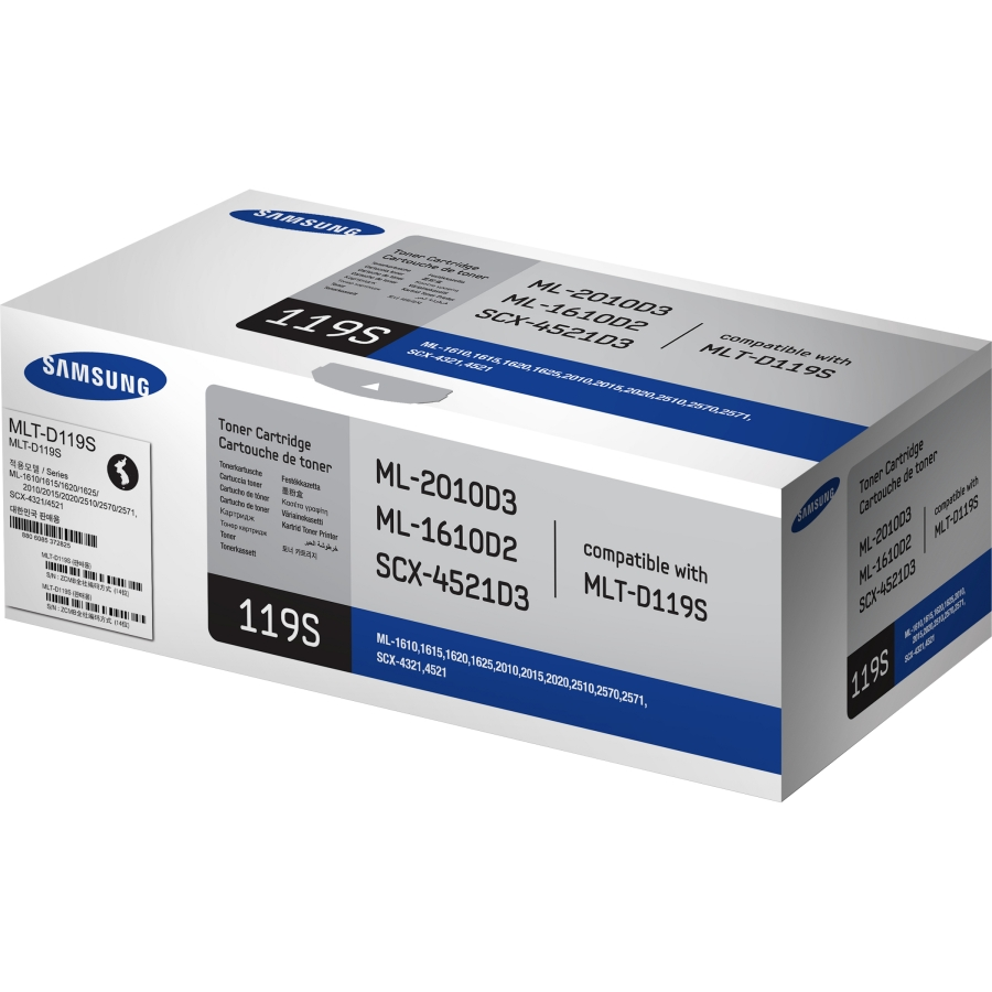 Mực in Samsung MLT-D119S Black Toner Cartridge (MLT-D119S)