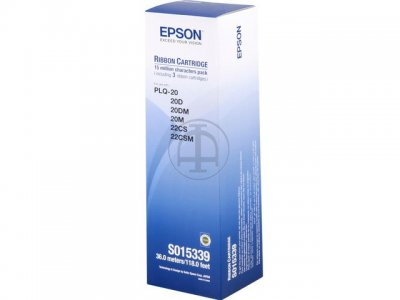 Ribbon Epson S015592 Black Ribbon Cartridge (PLQ-20M chính hãng)